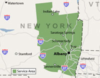 Our New York Service Area